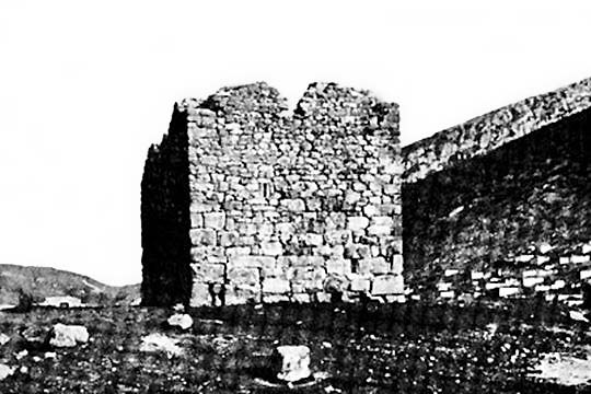 the tower of Amfikleia in 1937