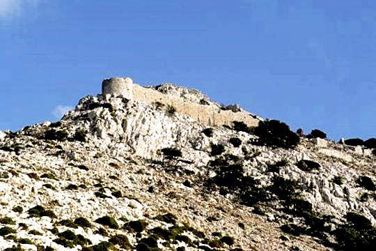 Apaliros Castle - Greek Castles