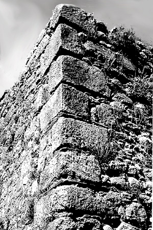 detail of the wall structure
