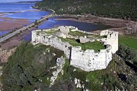 Castle of Grivas<br/>from the film of GO Lefkas