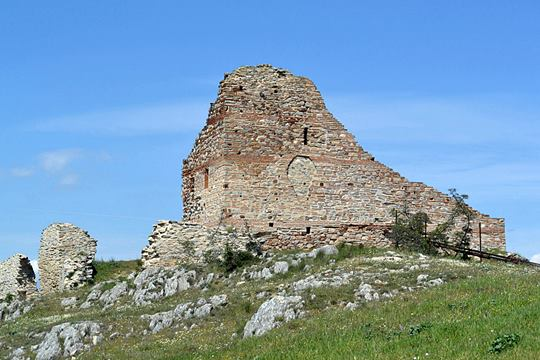 The main tower of the acropolis