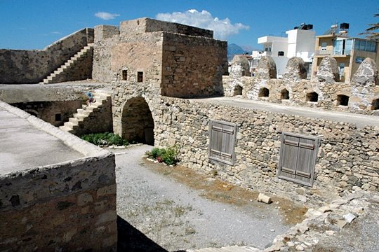 from the interior of the castle of Ierapetra