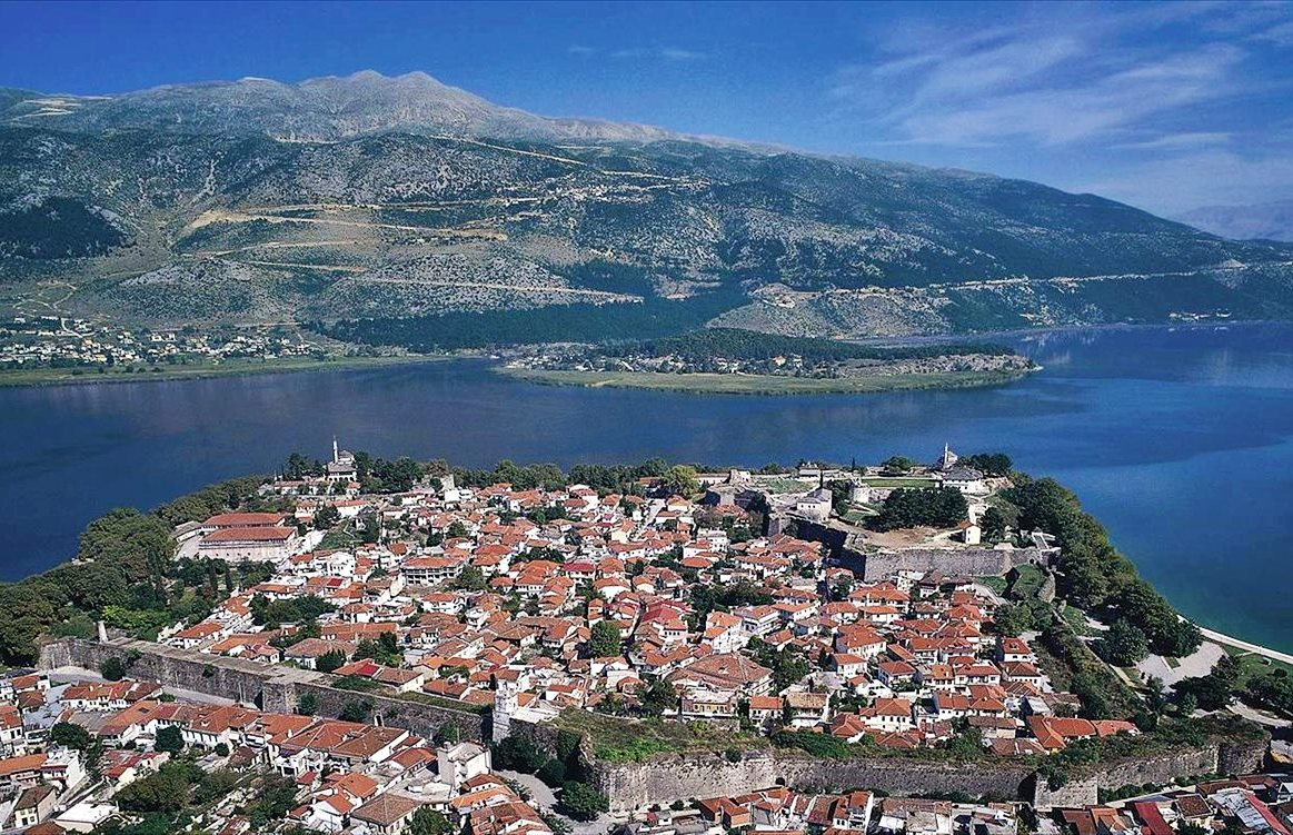 Ioannina Greece Map.Castle Of Ioannina Greek Castles