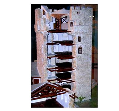 Model of the tower