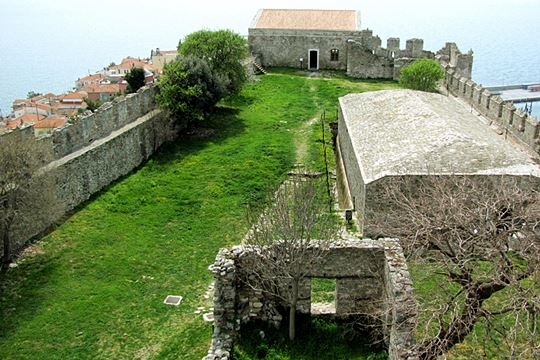 Fortress of Kavala<br/>Interior of the castle