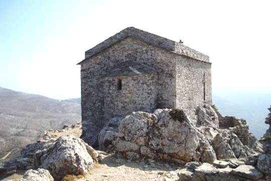 The little church on the castle