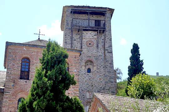 Tower of Koutloumousiou monastery