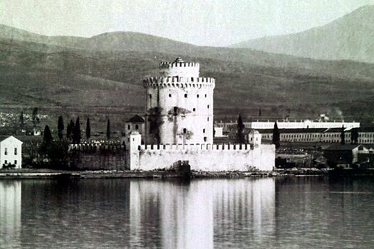 the tower around 1900