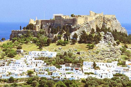 Acropolis of Lindos<br/>
