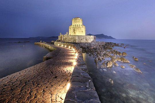 Αποτέλεσμα εικόνας για κάστρο Μεθώνη