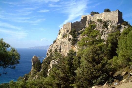 Αποτέλεσμα εικόνας για Ρόδος: Το χωριό Μονόλιθος και το κάστρο του