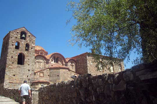 The cathedral of Mystras