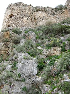 The keep at the SW side  (photo G.Syros)
