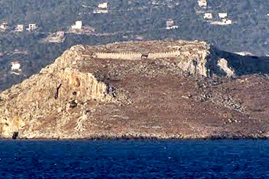 Fortress at Ovrios islet
