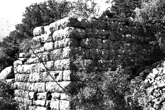 From the fortification of the ancient acropolis