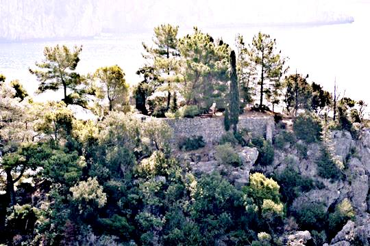 Fort of Panagia island
