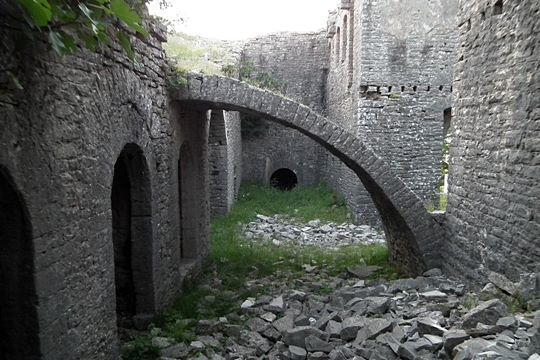 Interior of the fortress