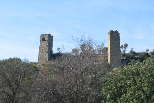 Southeast (left) and Northeast towers