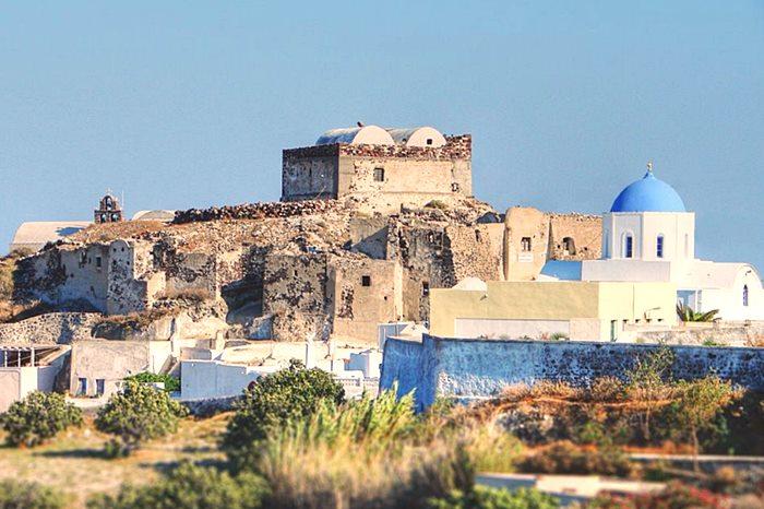 Kasteli Of Akrotiri Greek Castles