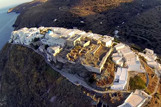 Castle of Kastro of Sifnos
